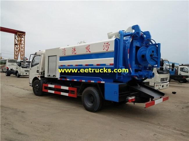 4x2 Dung Tanker Trucks