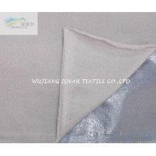 Polar Fleece consolidado mercerización acudieron con película para cortina