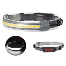 350 Lumen Waterproof 10W COB Head Light Led Headlights USB Rechargeable LED Headlamp for camping hiking