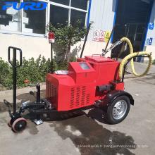 Machine électrique FGF-100 de joint de fente d'asphalte de remorque de moteur de générateur de Gsoline