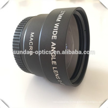 Lentilles grand angle optiques numériques, 37mm, 43mm, 58mm, 67mm