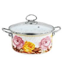 Chinese wholesale reusable serving pot set enamel storage pot  Chinese wholesale reusable serving pot set enamel storage pot
