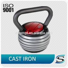 Kettlebell de hierro fundido ajustable 48LBS