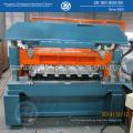 Deck de piso frio rolo dá forma à máquina