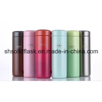 SVC-200c Stainless Steel Double Wall Vacuum Mug Travel Water Bottle