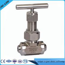 Usine de vannes de contrôle de débit en acier inoxydable
