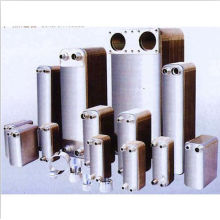 Intercambiador de calor de placas soldadas 316 para agua Chiler