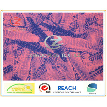 Two Way Stretch Fabric with Chaotic Printing (ZCGP015)