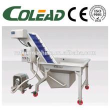 Aço inoxidável SUS 304 Lavadora de legumes / Linha de processamento vegetal de rizoma / máquina de lavar vegetal