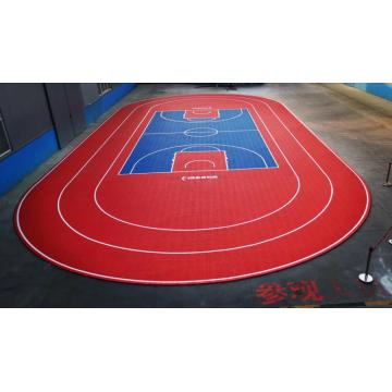 Carrelage sur le terrain de tennis Basketball Tennis Sports