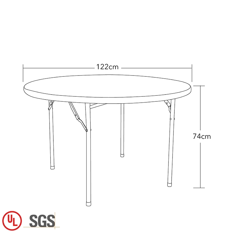 Dinning Catering Round Plastic Table