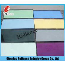 5mm Farbenspiegel / getönter Spiegel / blauer versilberter Spiegel / grüner Aluminiumspiegel / Badezimmer-Spiegel / Spiegel-Blatt / Glasspiegel / blauer Spiegel / grauer Spiegel / dekorativer Spiegel