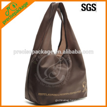 Folding Polyester Tote Bag In T Shirt Shape