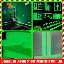 Cinta fotoluminiscente de seguridad señales de adhesivo Acrylie