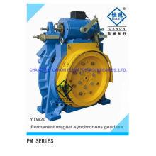 450kg máquina PM Gearless para elevadores