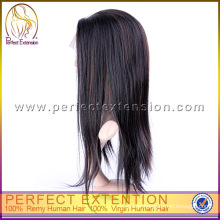 For African American Unprocessed Virgin High Quality Brazilian Hair Wigs