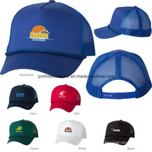 Polyester/Cotton Five-Panel Trucker Caps for Promotional Gifts