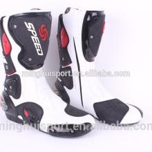 China Nueva motocicleta a prueba de agua patea botas de motocross Moto Shoes MH-462