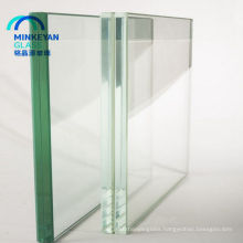 safety clear tempered glass with bevel edge