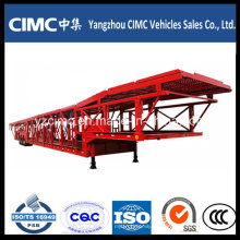 Cimc 2/3 Axle Car Transport Truck Trailer