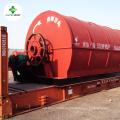 Abfall Reifen Pyrolyse Maschine Hersteller 2000 m2 Demo-Anlage