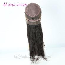 Precio de fábrica del pelo Peluca llena del cordón del pelo humano de la entrega rápida grande de las existencias en Dubai