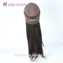 Unprocessed Raw Human Hair 10''-24 Inch Full 360 Lace Frontal Natural Color Woman Hair Silky Straight Hair Woman Lace Wigs