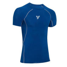 Intense Gym Workouts Tight High Elastic Quick Swear Camiseta deportiva