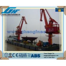 mobile harbour portal crane