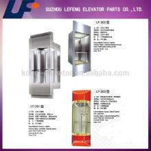Наблюдательные подъемники Китая для осмотра достопримечательностей, Лифт для пассажирского стекла
