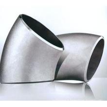 Joint de tuyau en acier inoxydable 45 degrés coude