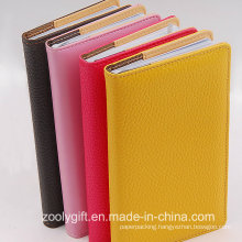 Assorted Color Soft PU Leather A6 Agenda Notebook Journal Diary Planner Organizer