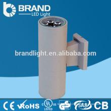 IP65 2 * 5W luz de parede ao ar livre do diodo emissor de luz, ao ar livre para baixo acima da luz da parede, CE RoHS