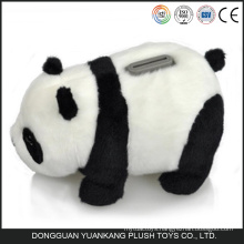 Lovely plush panda coin bank