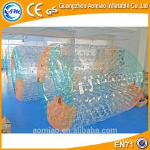 Rouleau d'eau gonflable personnalisé en PVC / TPU haute qualité CE pour adulte