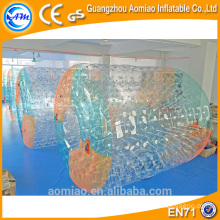 high quality CE PVC/TPU giant customized inflatable water roller for adult