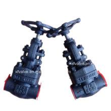 Стандартный API кованые стальные a105 конец резьбы Клапан ДНЯО
