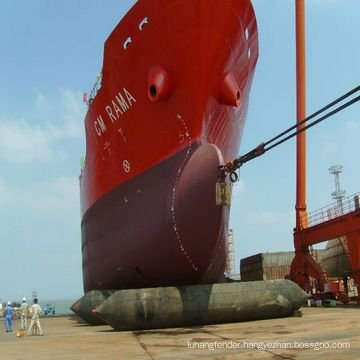Ship or dock used by Marine Natural Rubber boat Airbag
