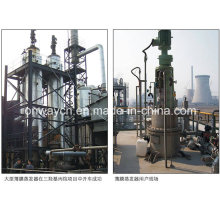 Tfe High Efficient Agitated Dünnfilm Distiller Vakuum Destillation Ausrüstung Rotation Scraper Film Verdampfer