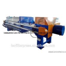 Leo Filter Press Agar produce una prensa de filtro Memrane automática