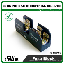 FB-M031SQ igual a Bussmann 600V 30 amperios 1 polo 10x38 caja de fusibles de anillos