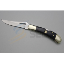 """7 """"faca de corte do punho do osso do cobre e do boi (SE-481)"""