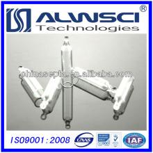 Inserções de vidro de 5 mm com base cônica para frascos 8-425