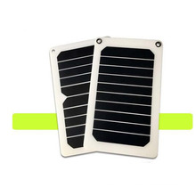 6.5watt 5v sunpower solar charger efficient solar panels for cellphone laptop