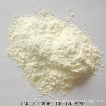 Pó de alho seco 100-120 Mesh Boa qualidade