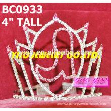 Coroas e tiaras de cristal de sapato adorável