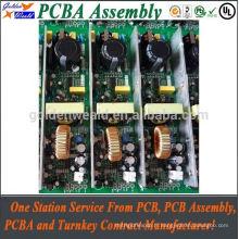 12v ups circuit imprimé avec fr4 94v0 pcb matériel led lumière pcba