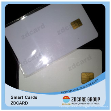 Professional Blank ID Carte à puce IC Plastique en PVC Cr82