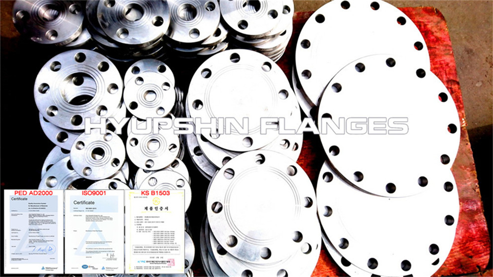 Hyupshin Flanges Blind Ff