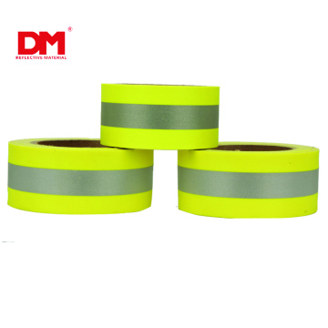 Cotton FR Reflective Warning Vest Trim 5cm